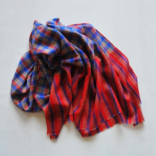 nukuiro 手織りパシュミナストール(nu-5)