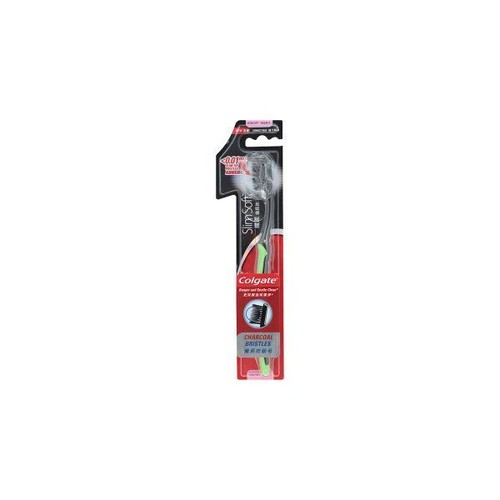 コルゲート 歯ブラシ スリム ソフト チャコール ウルトラ / Colgate Toothbrush Slim Soft Charcoal Ultra
