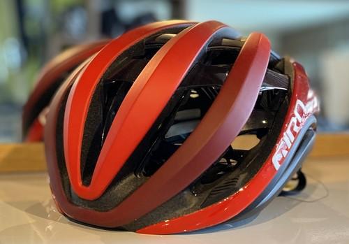 【フリー】GIRO (ジロ)    ■    AETHER MIPS AF ヘルメット レッド×ダークレッド