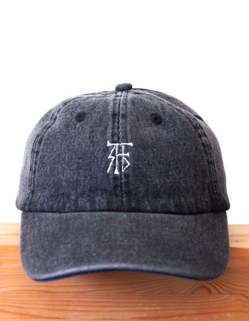 FUJITOSKATEBOARDING Denim Cap  Black (Mark ver.)