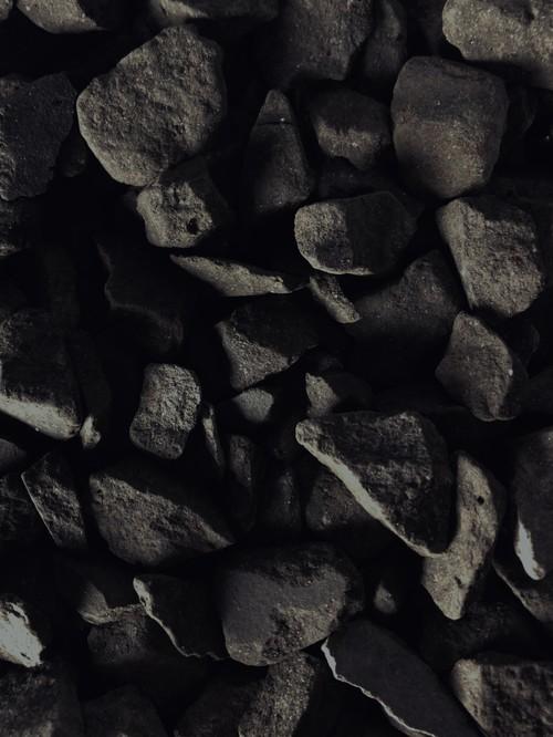瓦化粧石 黒燻L