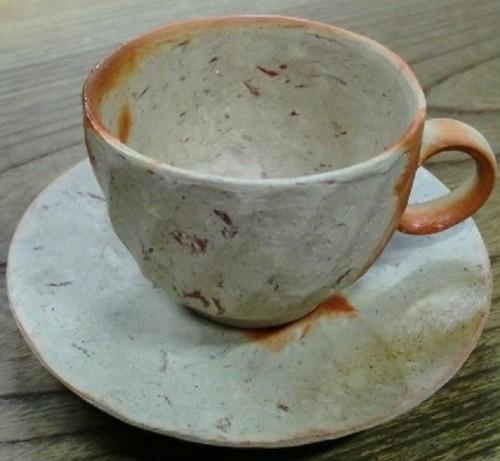 016 備前焼 コーヒーカップ