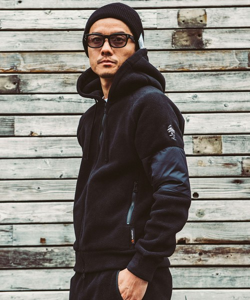 CRIMIE(クライミー) / CR01-01K5-JK41 / POLARTEC FLEECE ZIP PARKA