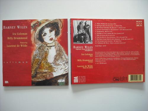 【CD】BARNEY WILEN / TALISMAN