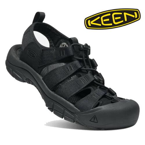 KEEN キーン メンズ サンダル ニューポート エイチツー Triple Black 1022258