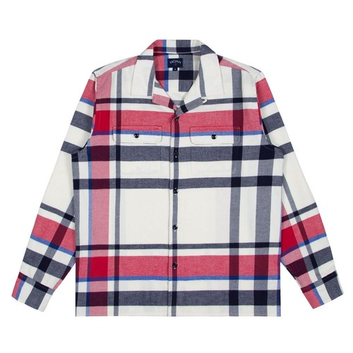 Plaid Flannel Shirt(Multi Plaid)