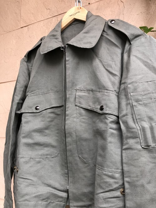 Deadstock Old Italian military flight jacket