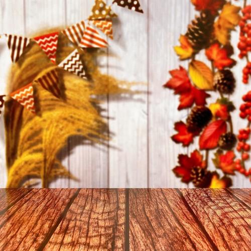 Ca_ススキと落ち葉のやさしい秋