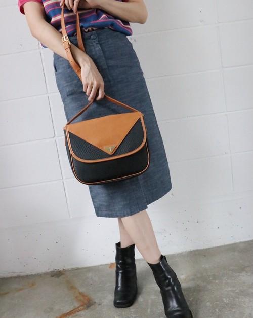 Yves Saint Laurent mesh shoulder bag