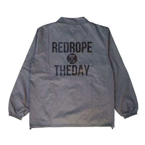 【THEDAY COACH JKT】gray/black