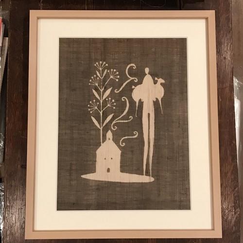 望月通陽 作品「羊と帰る」