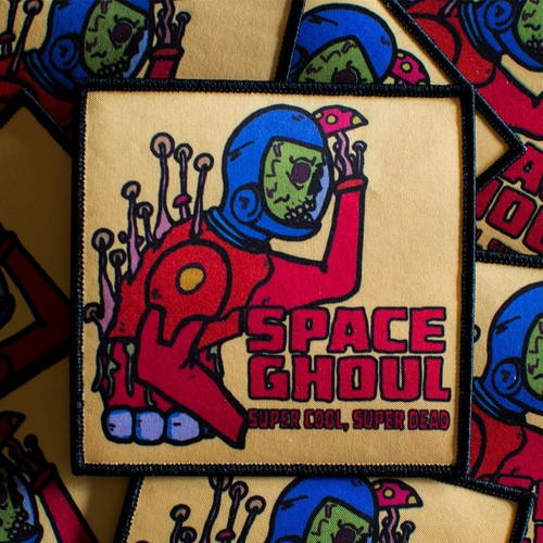 "MajorCrimesDivision""Space Ghoul Patch"""