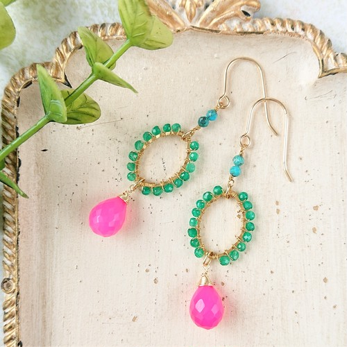 candy color pierce / earring 013