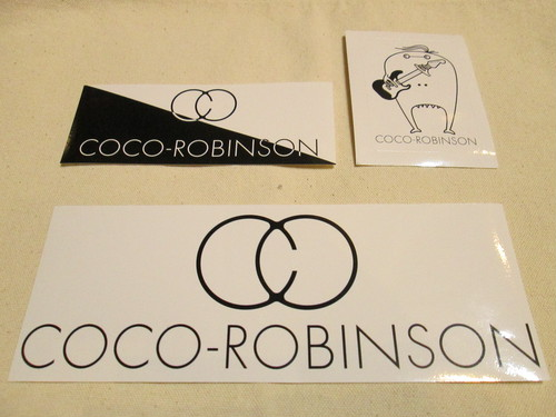 COCO-ROBINSON ステッカーセット