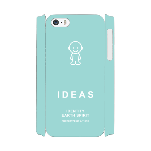 IDEAS/iPhone5/5s/SEケース 800-グリーン
