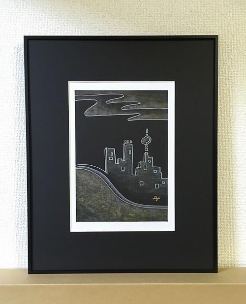 インテリア絵画 原画-P336
