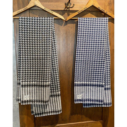 SEVENTY FOUR(セブンティーフォー) / CHECKED STOLE(STF20FW22)(ストール)
