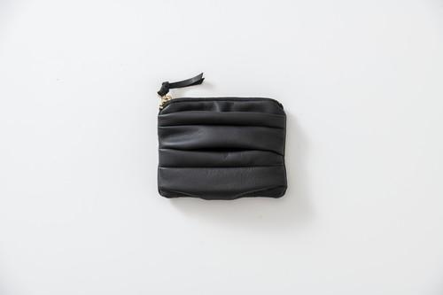 SIWA:tissue case & card case.(black)