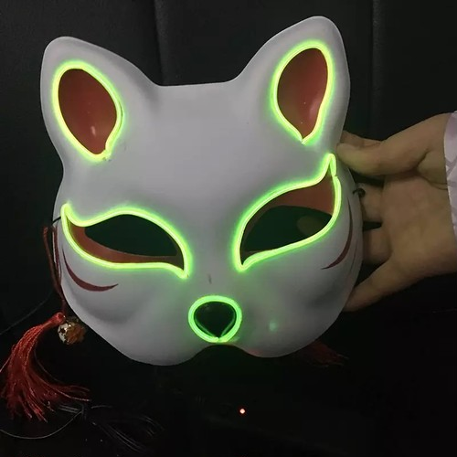 さまざまなダンスで使えるおしゃれな狐のお面 ハロウィン仮装ダンス