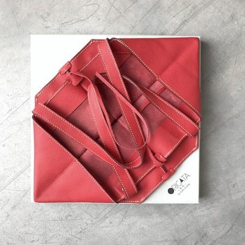 ORIGATA Tote -M- Rosso