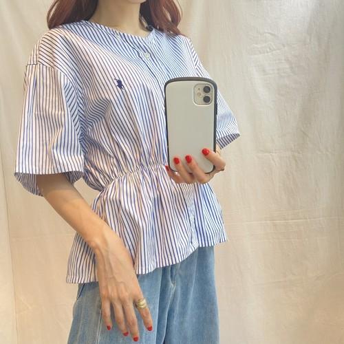 Ralph LaurenリメイクVネックシャツ(elie)