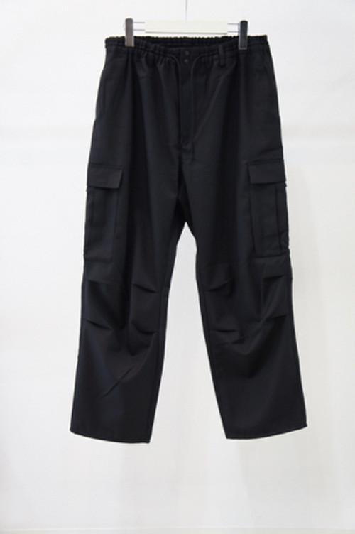 Classic Winter Wool Cargo Pants -BLACK- / Y-3
