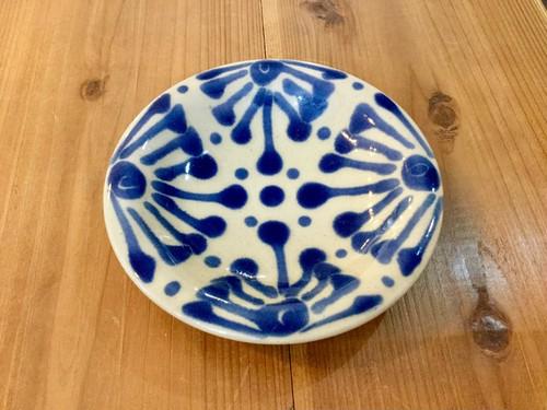 皿5寸コバルト ノモ陶器製作所