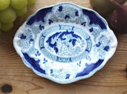CAULDON コウルドン シノワズリー牡丹の皿 イギリス
