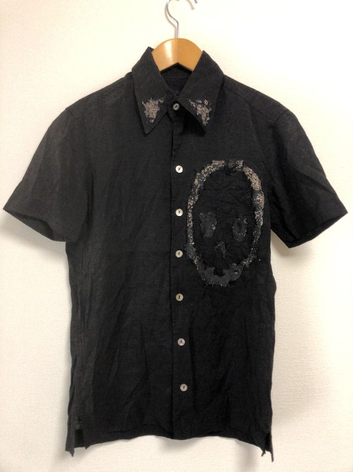 late90's〜early2000's KOHSHIN SATOH gauze S/S shirt