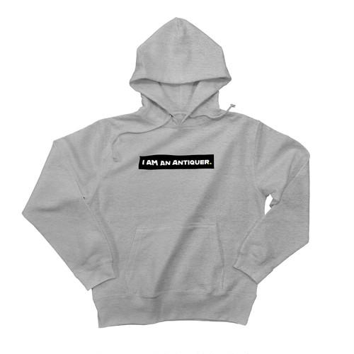 ANTIQUER Hoodie / Black logo