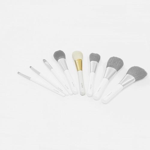 熊野化粧筆 チークブラシS PW パールホワイト