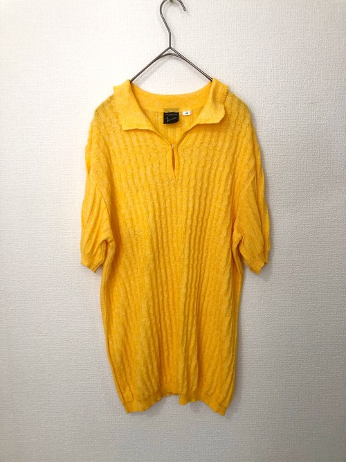 Yellow summer knit