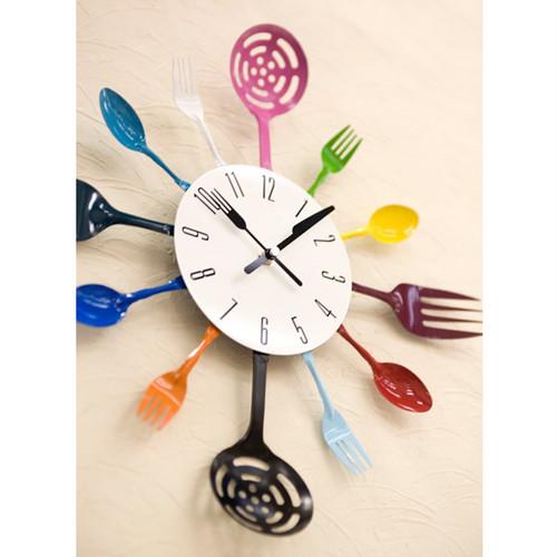 キッチンツールウォールクロック*壁掛時計