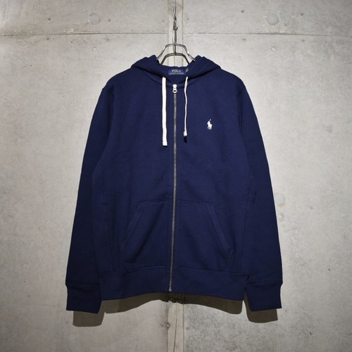 POLO RALPH LAUREN CLASSIC FULL ZIP HOODIE / NAVY