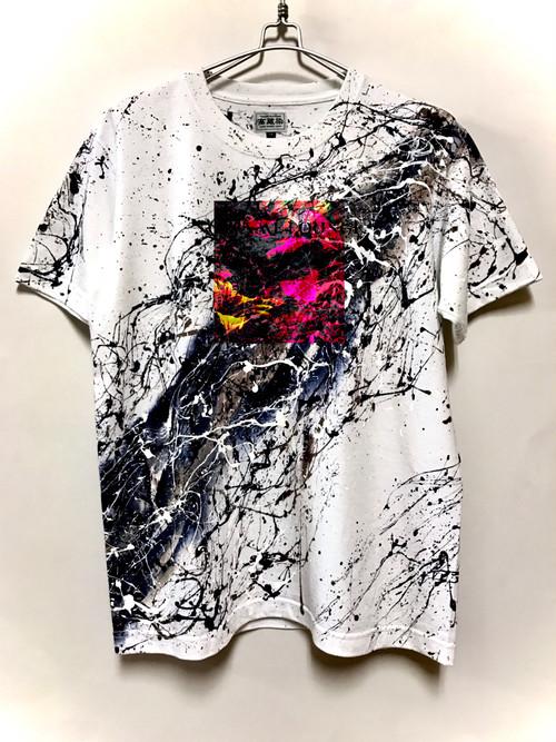 rata オリジナルTシャツ Ω(オメガ)Version 高蔵染仕様