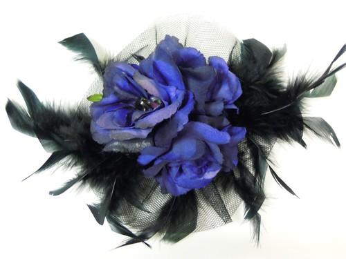 コサージュ(紫薔薇)
