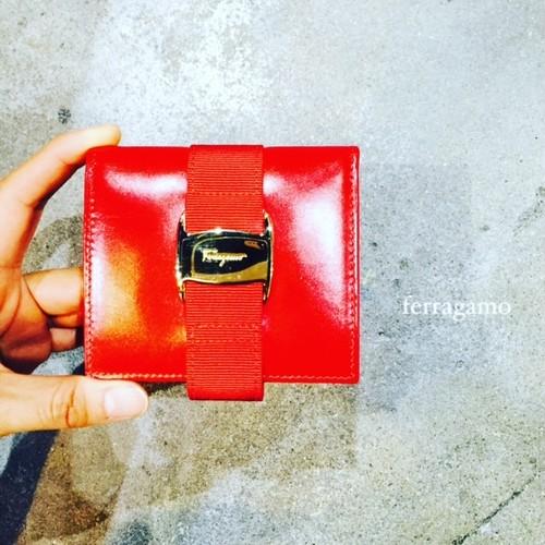OLD Ferragamo 折り畳み財布
