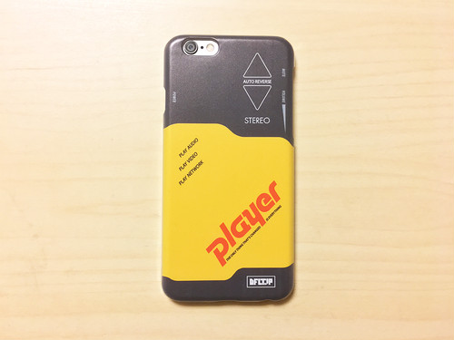 "iPhone case ""Player"""