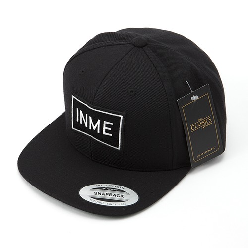INME_C01 ロゴワッペンキャップ