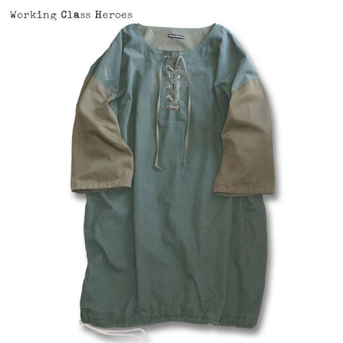 Remake ARMY Laundry Long Anorak
