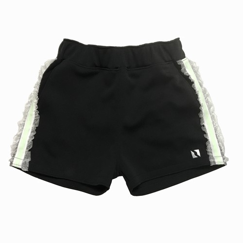 frill line short pants