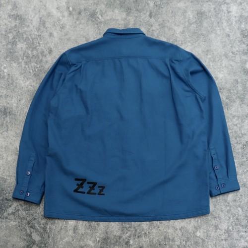 "【SANSE SANSE】""neru shirt"" (BLUE) サンセサンセ ネルシャツ"