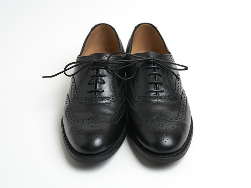 -SANDERS- Full Brogue Leather Shoes
