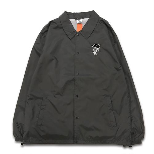 CENTRAL central BOYA coach jacket  チャコールグレー【XL size】