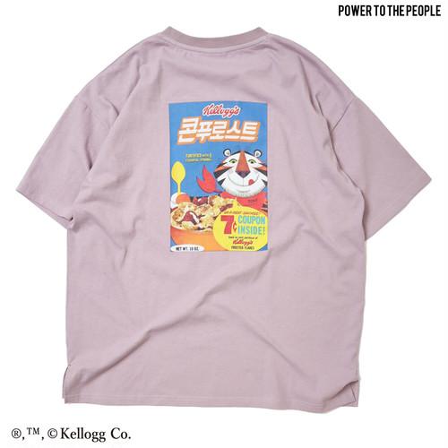 【Kellogg】パッケージプリントOVER Tシャツ NO1515014