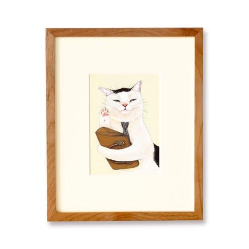 金曜日のねこ課長 原画 / The Section Chief Cat Loves Friday Original Artwork