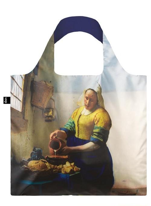 LOQI エコバック VERMEER The Milkmaid, 1658-60 & IRMA BOOM DNA 19 Bag