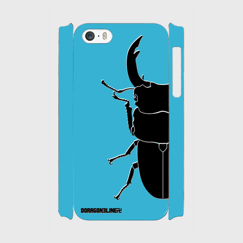 (iPhone5s) Insectera (ターコイズブルー)