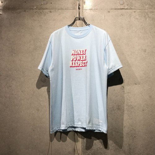 THE SOCIETY M.P.R. T-SHIRT / SKY BLUE
