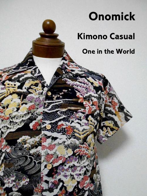 着物アロハシャツ Kimono Aloha Shirt AL-635/S